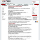 Ювелирный интернет-магазин 1GOLD.RU – продажа и производство ювелирных изделий