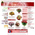 Interflora.ru Заказ и доставка цветов. Россия